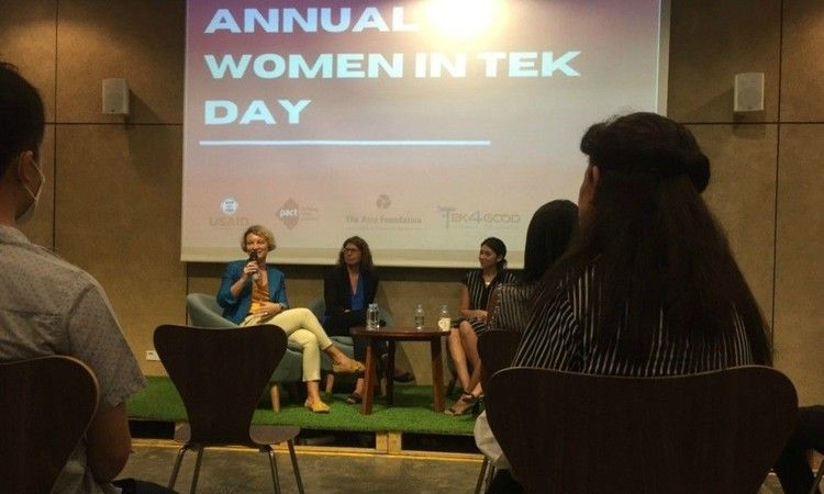 women in tek speaker sessions