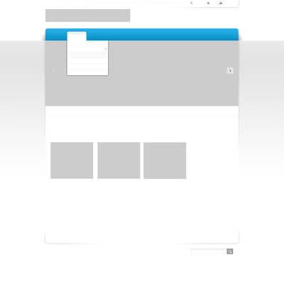 Wireframe of a webpage layout.