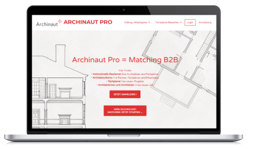 archinaut pro website design