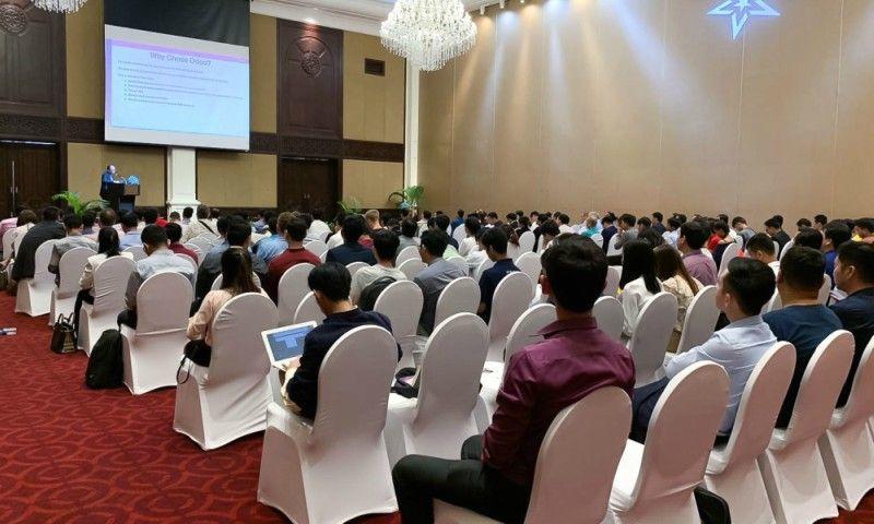 Web Essentials join Odoo Event in Phnom Penh | Web Essentials